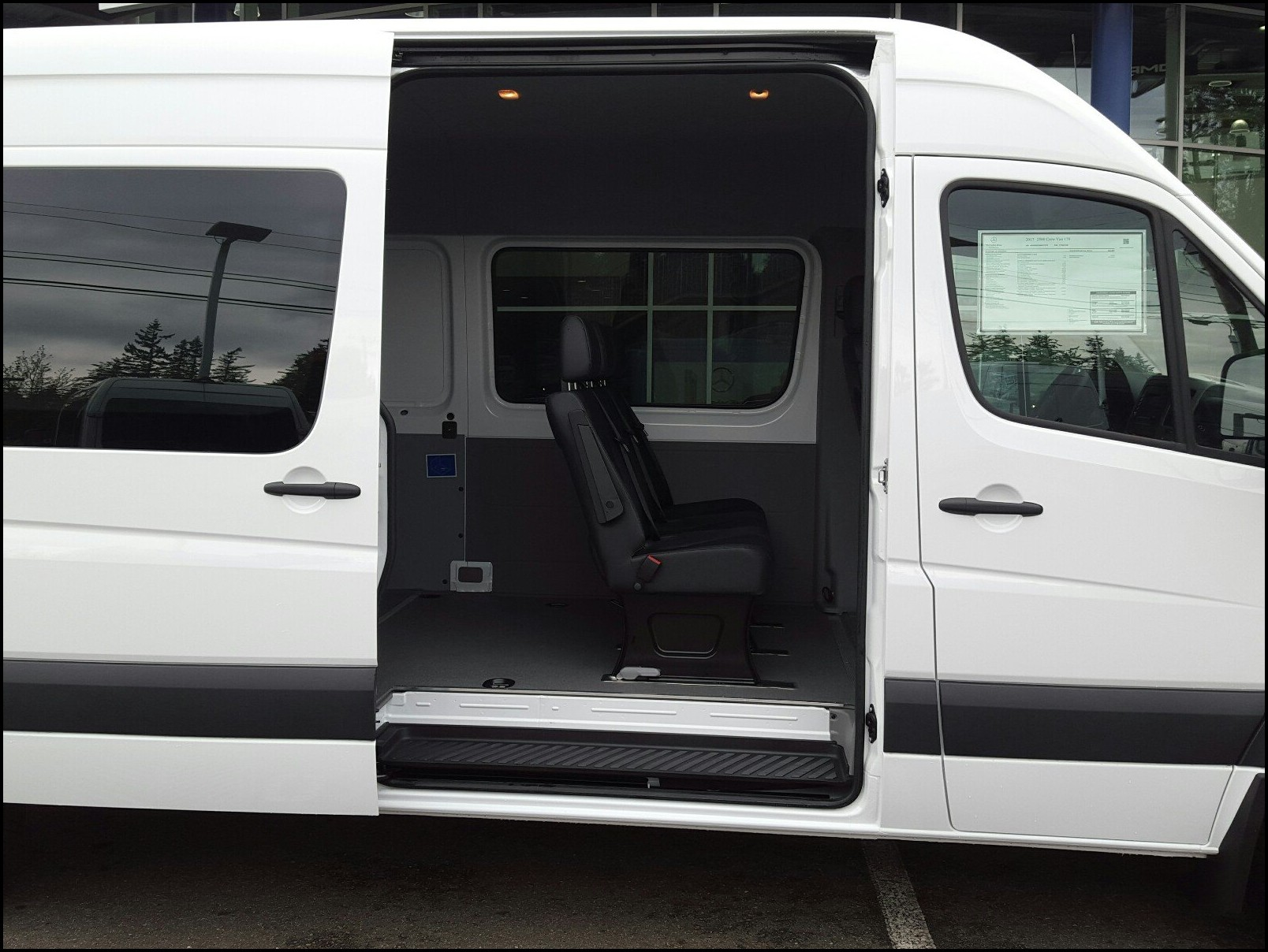 2018 Mercedes Sprinter RV Interior Capacity