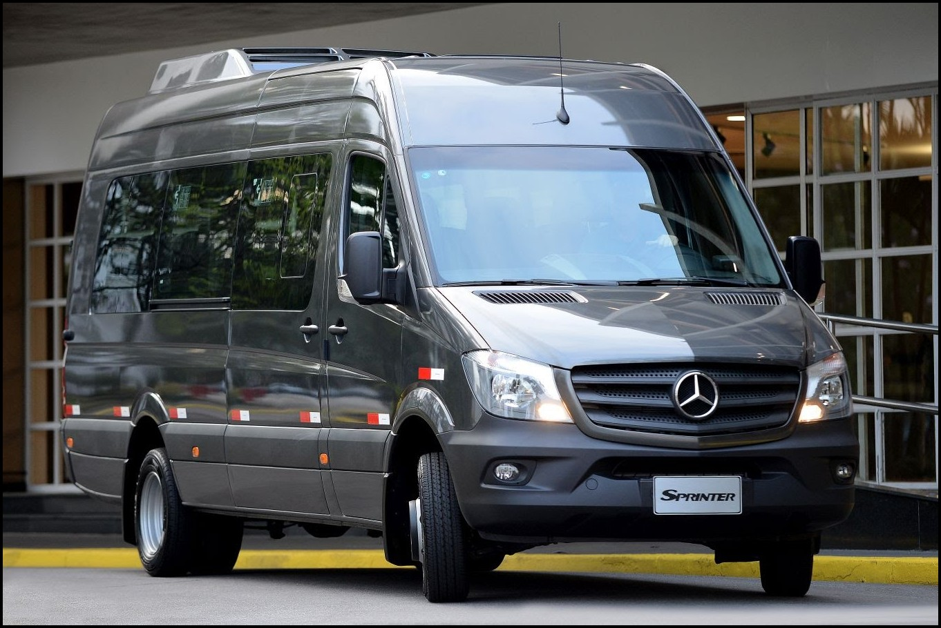 2018 Mercedes Sprinter RV Passenger Van Reviews