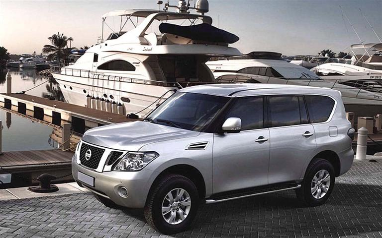 2018 Nissan Armada Exterior Changes Layout
