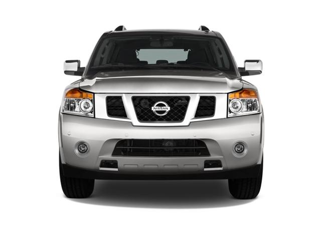 2018 Nissan Armada Front angle New Headligt Design