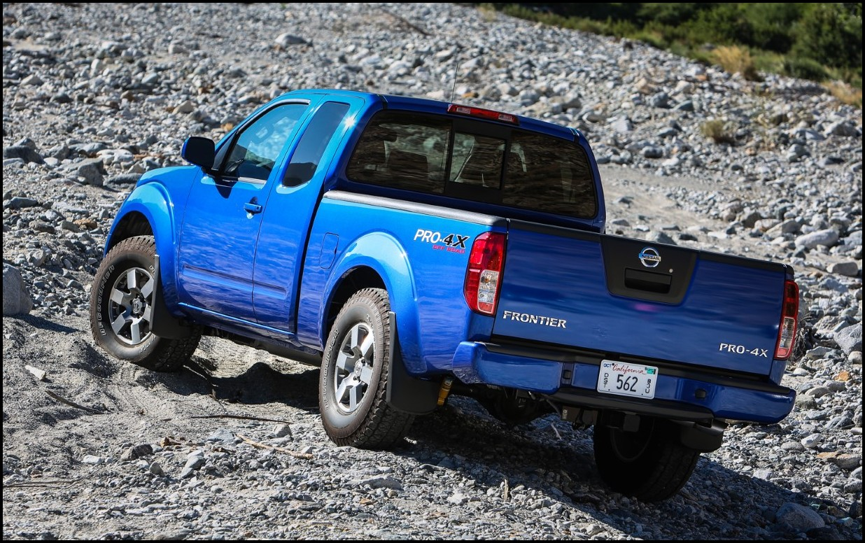 2018 Nissan Frontier 4X4 Lift Kit Blue Color