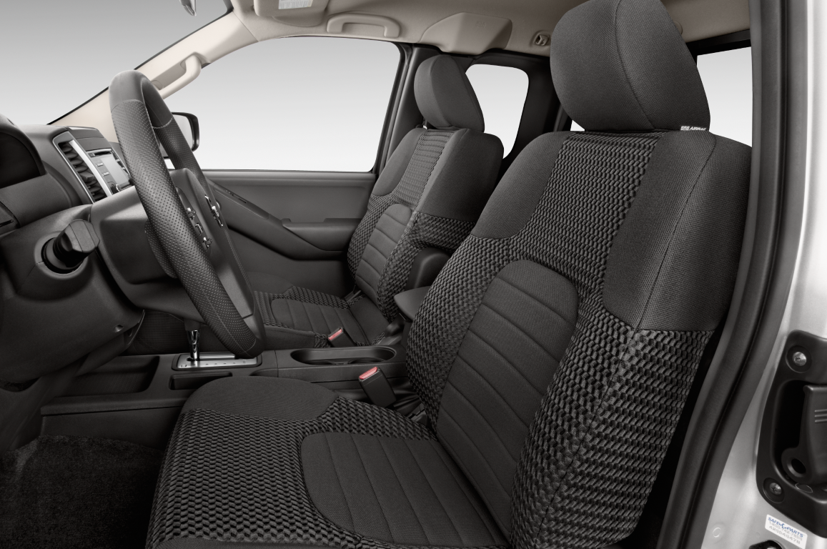 2018 Nissan Frontier Crew Cab Interior Refresh with New Leather