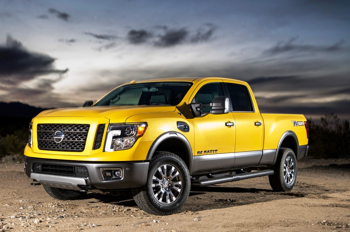 2018 Nissan Titan Xd Warrior Trims