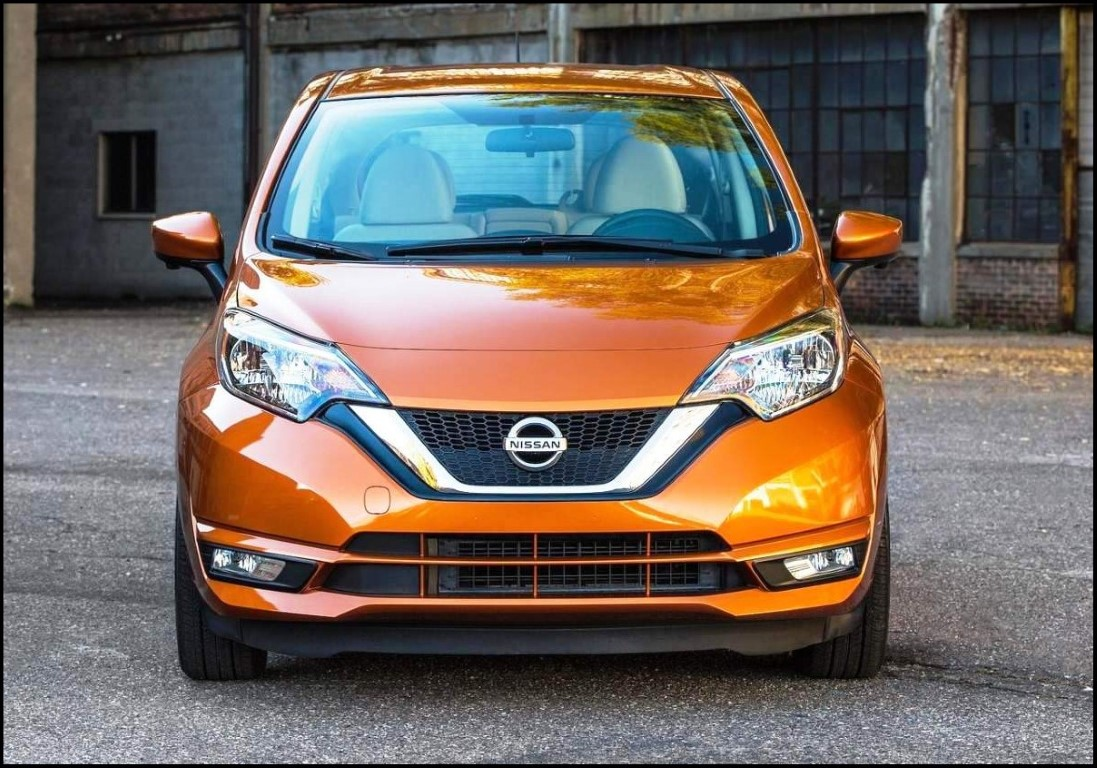 2018 Nissan Versa Note Front Angle New Grill Pictures