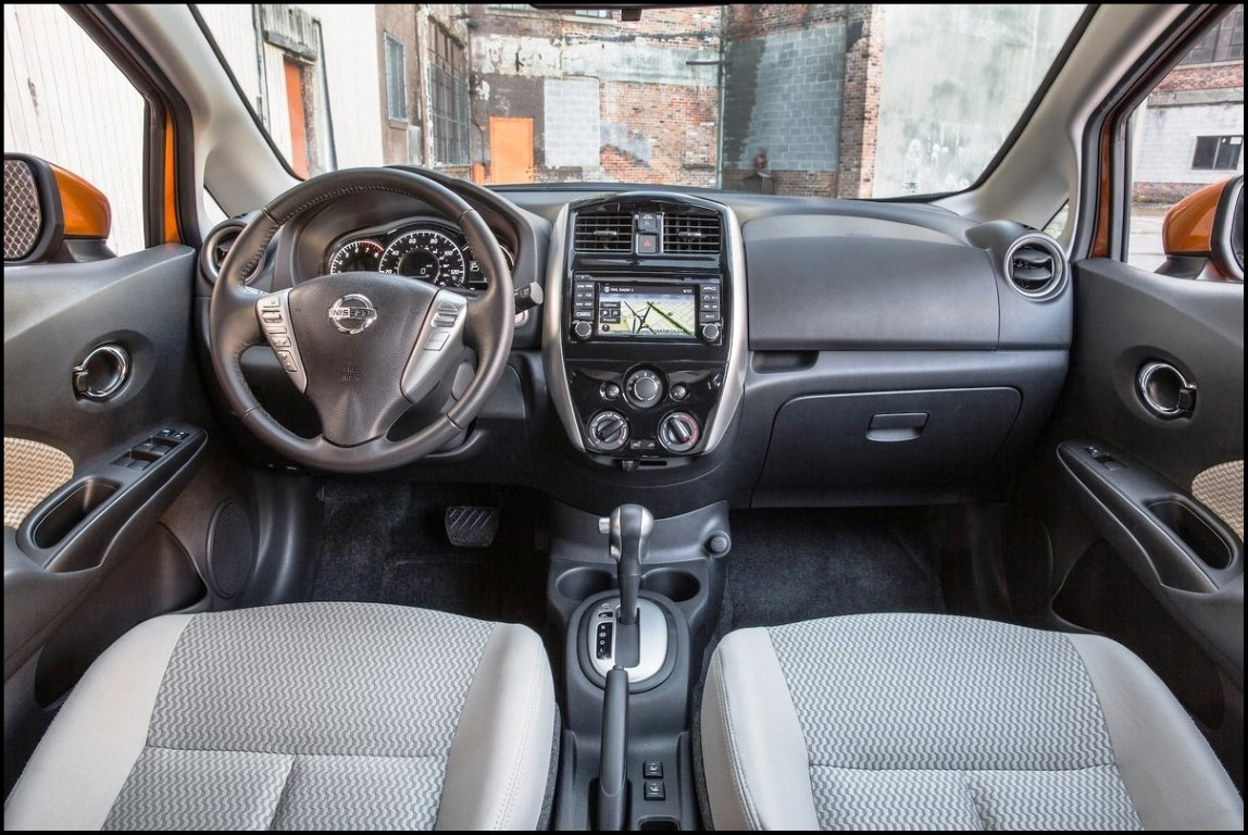 2018 Nissan Versa Note SR Interior Changes For Dashboard