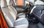 2018 Nissan Versa Note Seating With Leathe Color