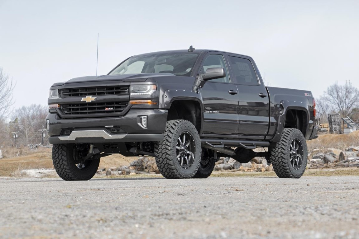 2018 Regular Cab Silverado 4X4 Lifted