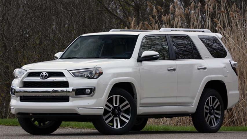 2018 Toyota 4Runner Limited Gas Mileage