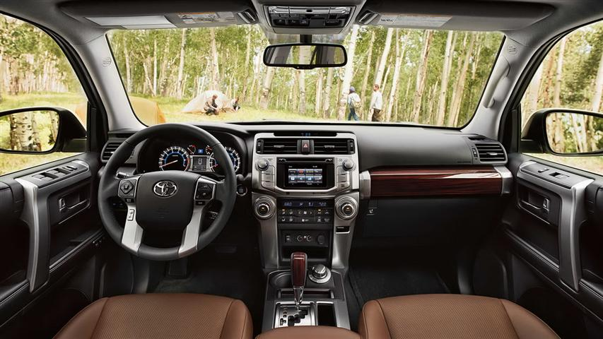 2018 Toyota 4Runner Limited Interior Images