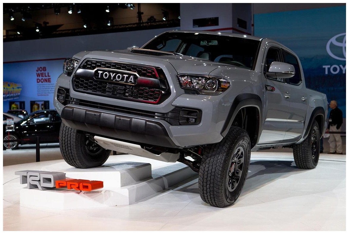 2018 Toyota Tacoma Trd 4x4 Pro All Wheel Drive