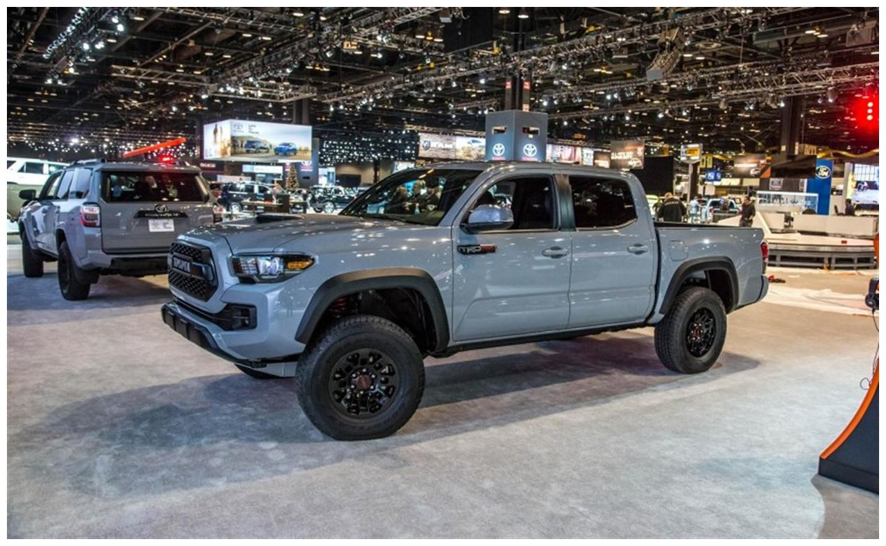 2018 Toyota Tacoma Trd Pro Price and Availability on Dealership
