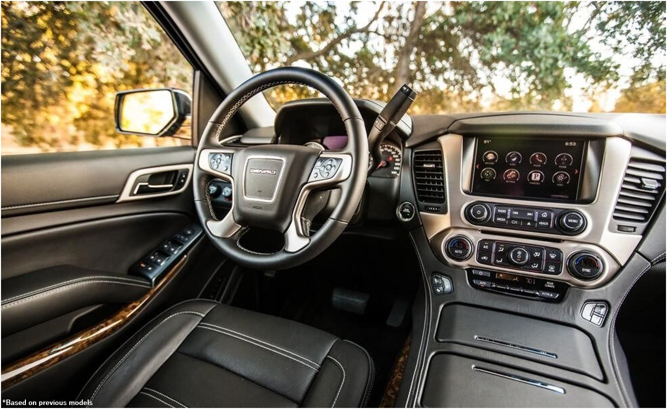 2019 GMC Yukon XL Interior