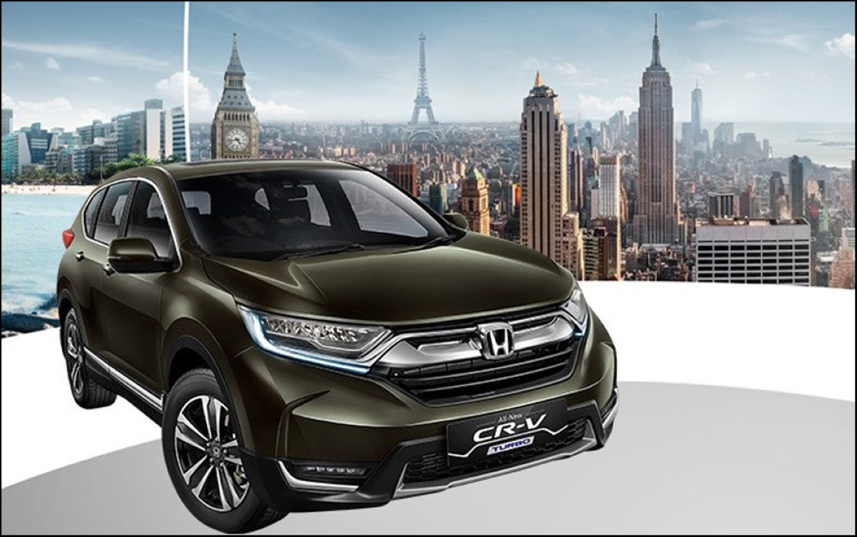2019 Honda CRV Concept Rendered