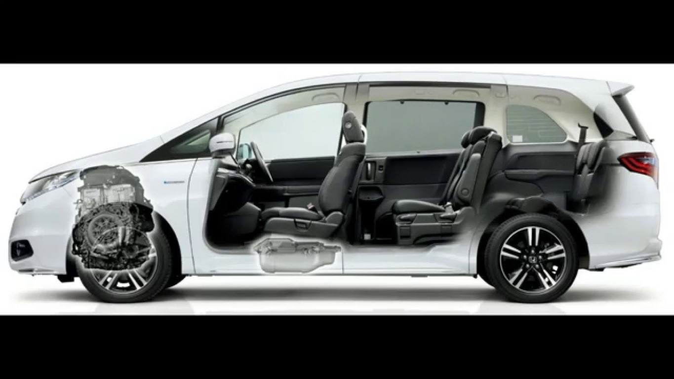 2019 Honda Odyssey Hybrid Interior Capacity And New Features