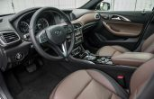 2019 Infiniti QX30 Interior Images With New Leather and Dashboard