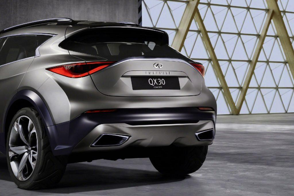 2019 Infiniti QX30 Specifications