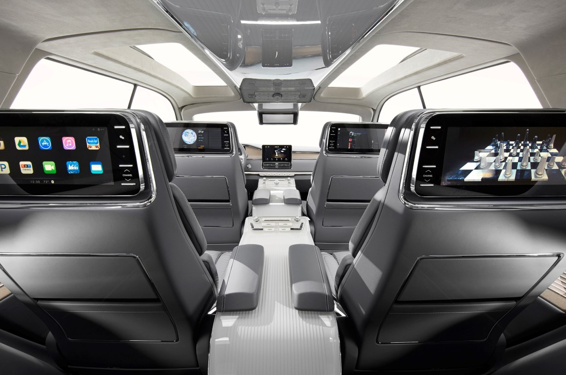 2019 Lincoln Continental Interior Sedan Capacity