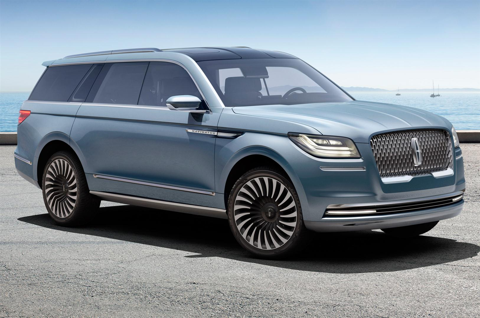 2019 Lincoln Navigator Concept Pictures