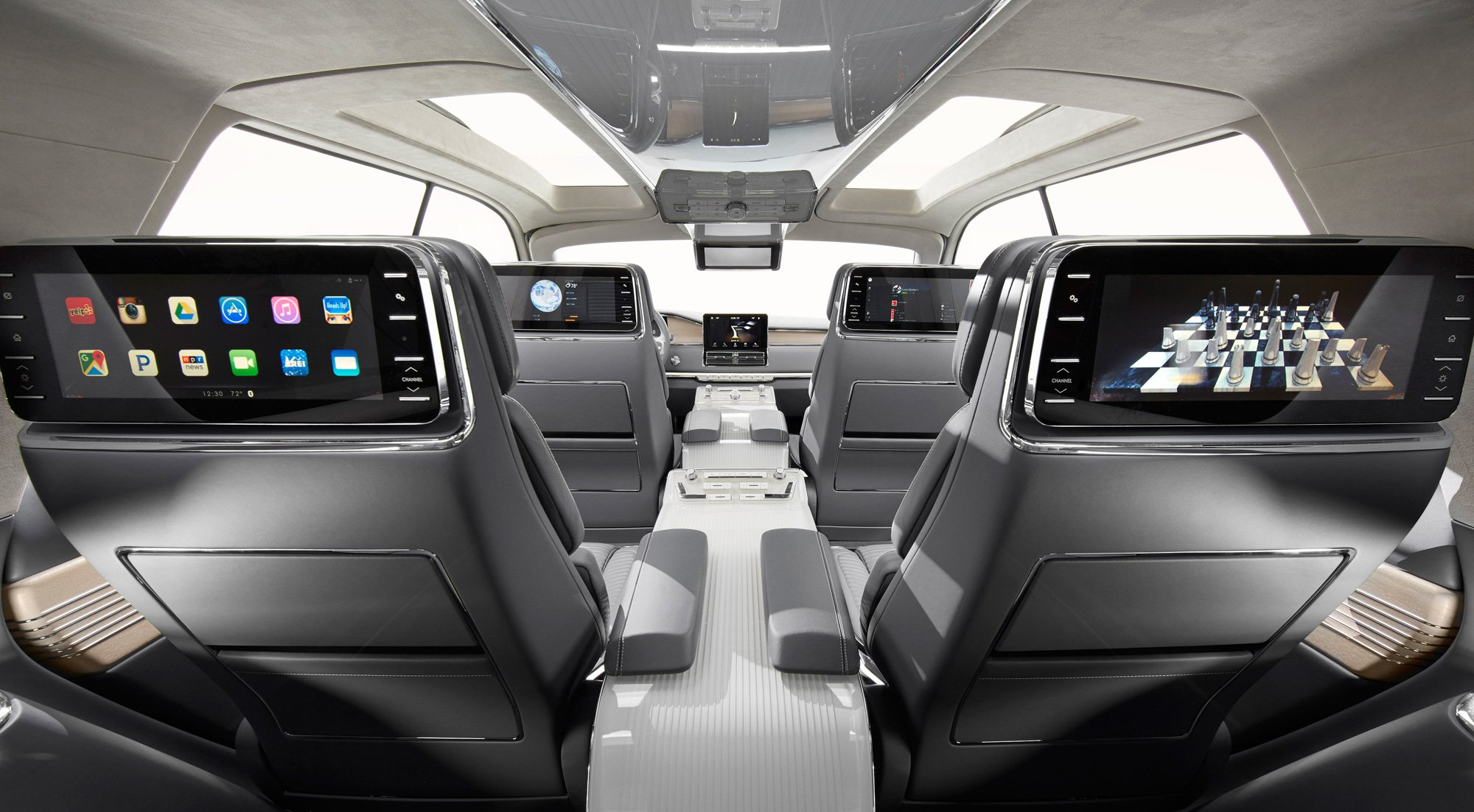 2019 Lincoln Navigator Interior Changes