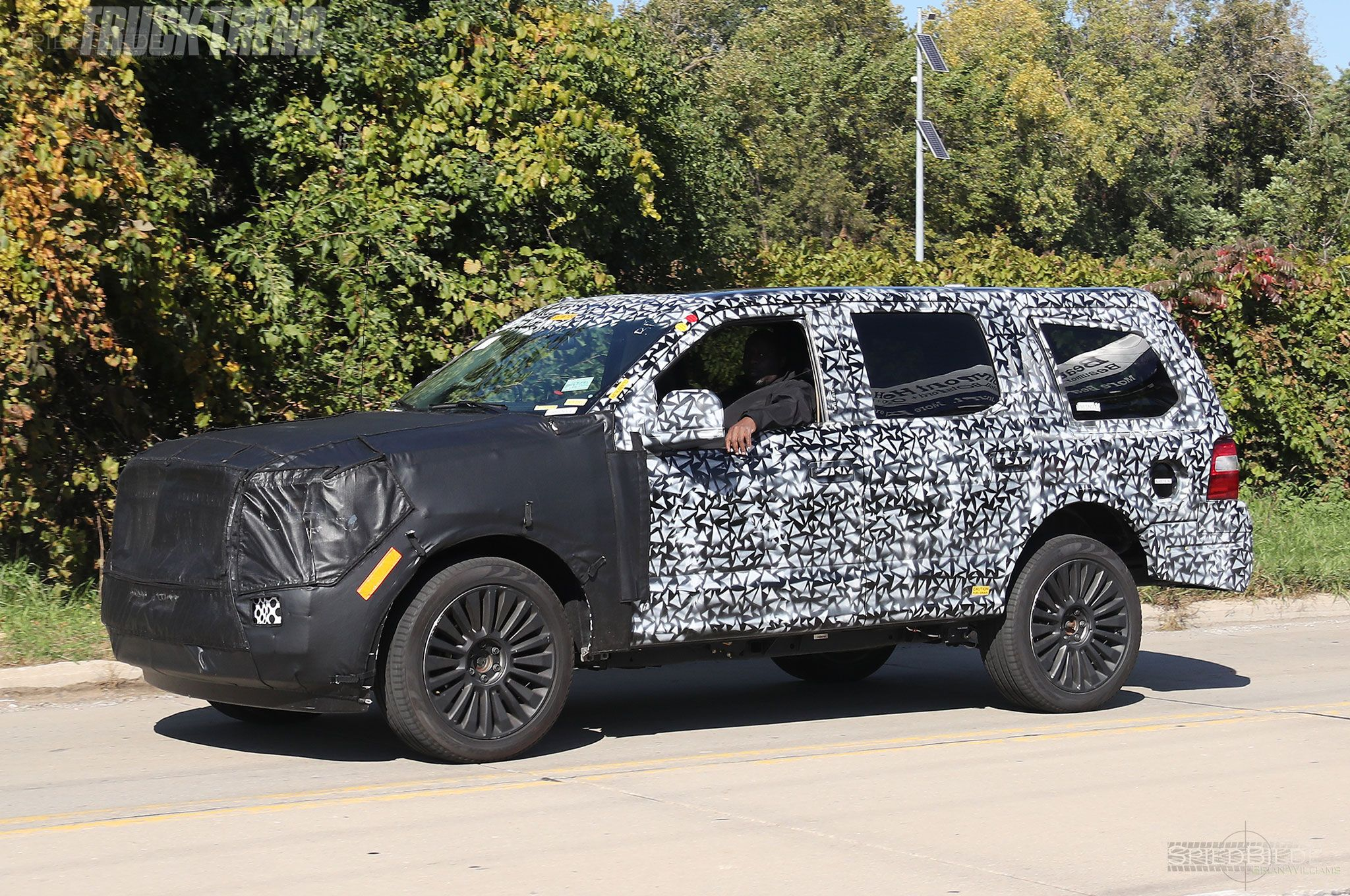 2019 Lincoln Navigator Spy Pictures