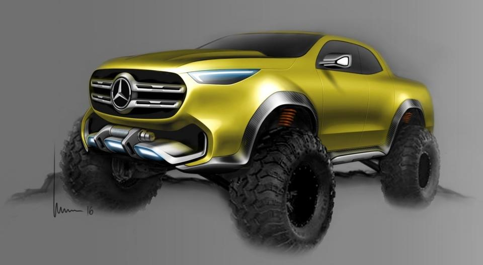 2019 Mercedes Benz Pickup Truck 6x6 Price