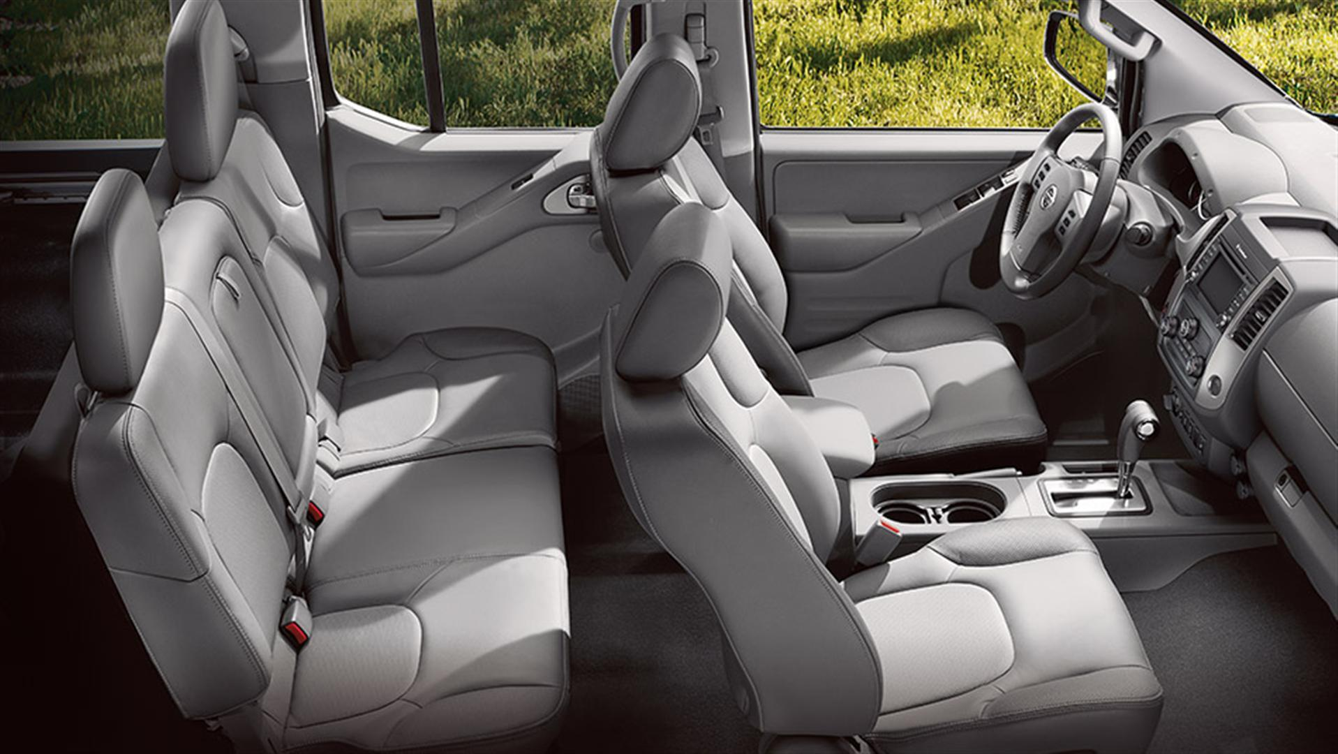 2019 Nissan Frontier Redesigned Interior Capacity