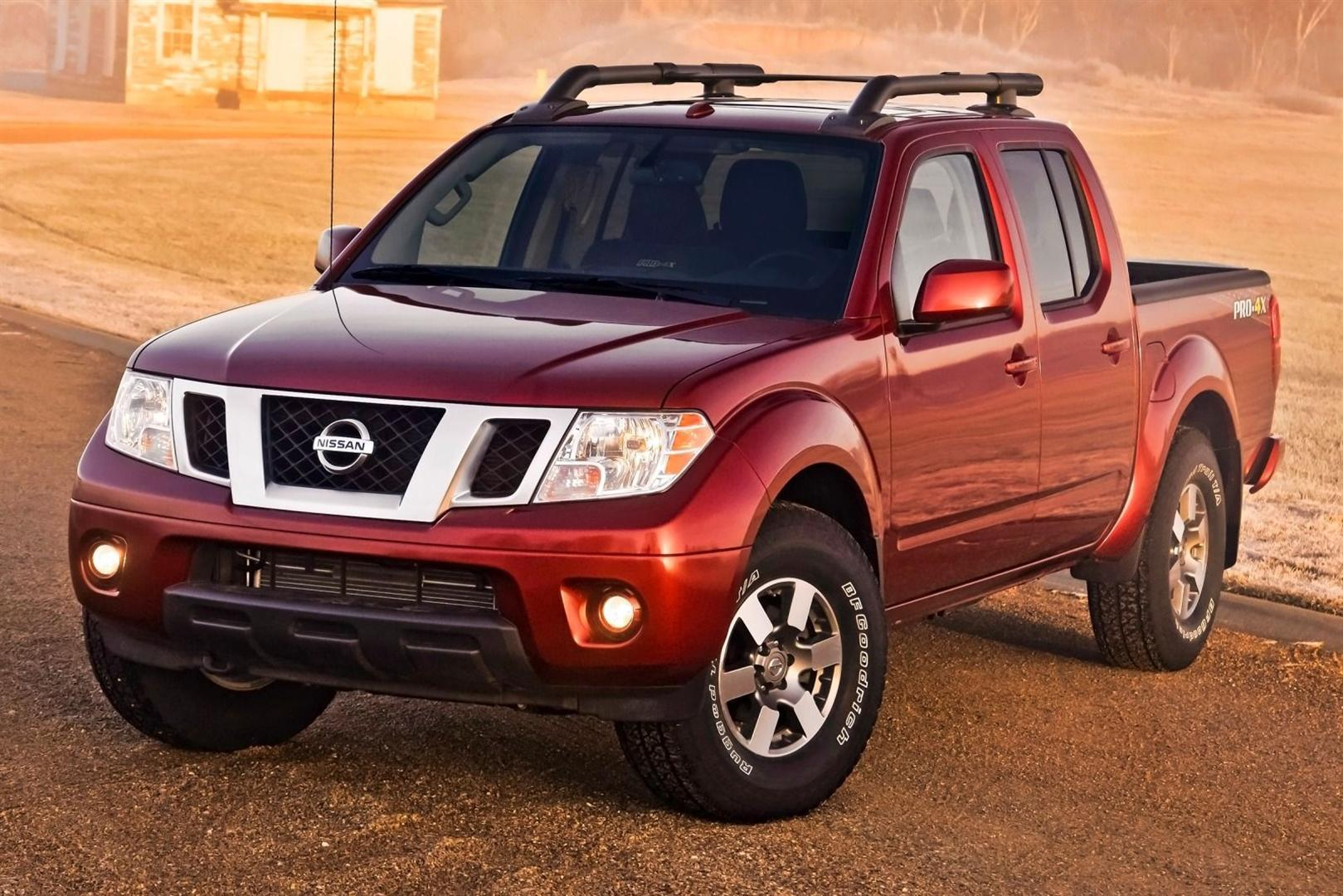 2019 Nissan Frontier Updates Red Color 4X4