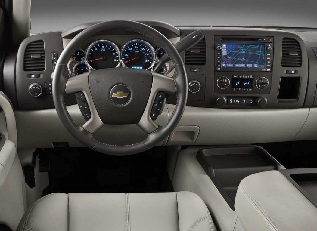 Single Cab Silverado Interior Images
