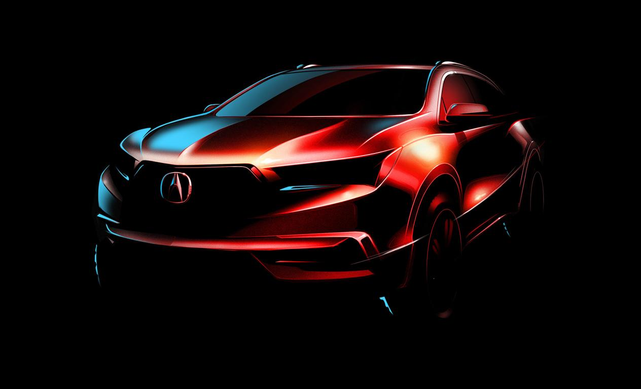2019 Acura RDX Rendered Images