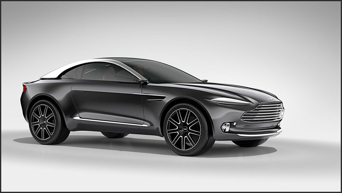 2019 Aston Martin DBX SUV Exterior Pictures Rendered