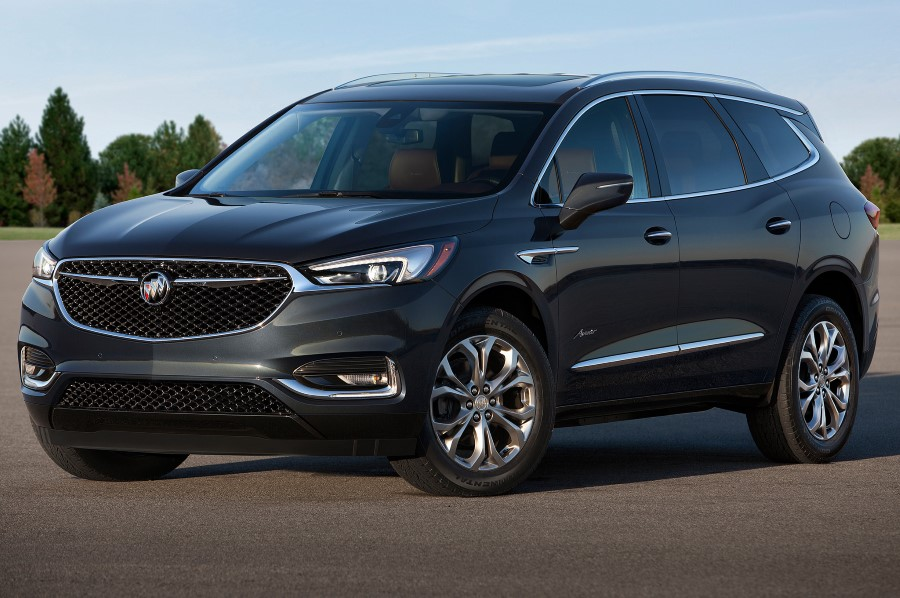 2019 Buick Enclave Exterior Colors Trim