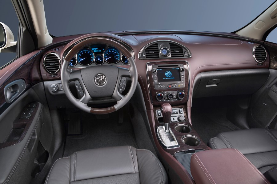 2019 Buick Enclave Interior Pictures; Dashboard Detail Update