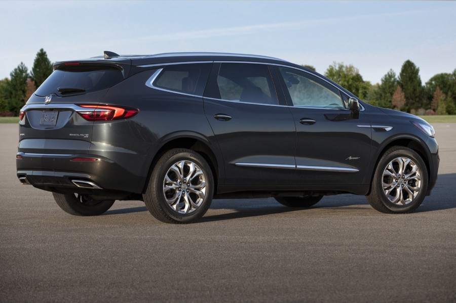 2019 Buick Enclave MPG Consumption