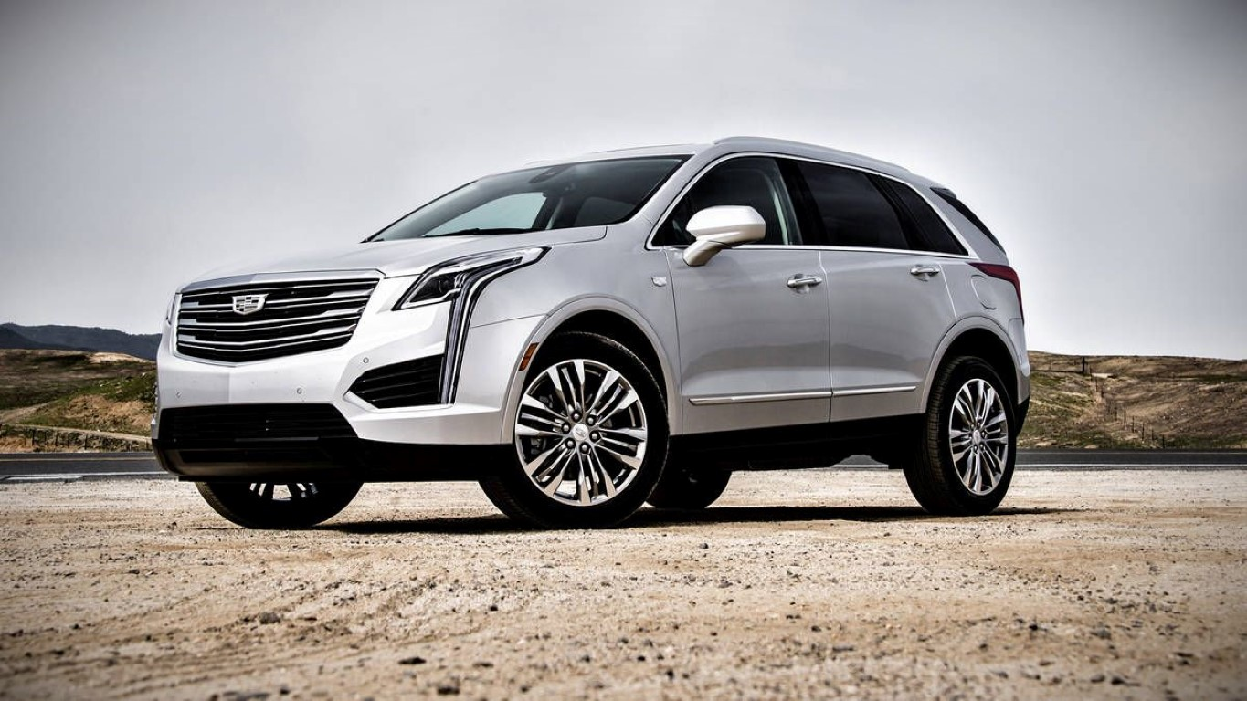 2019 Cadillac XT7 Specifications