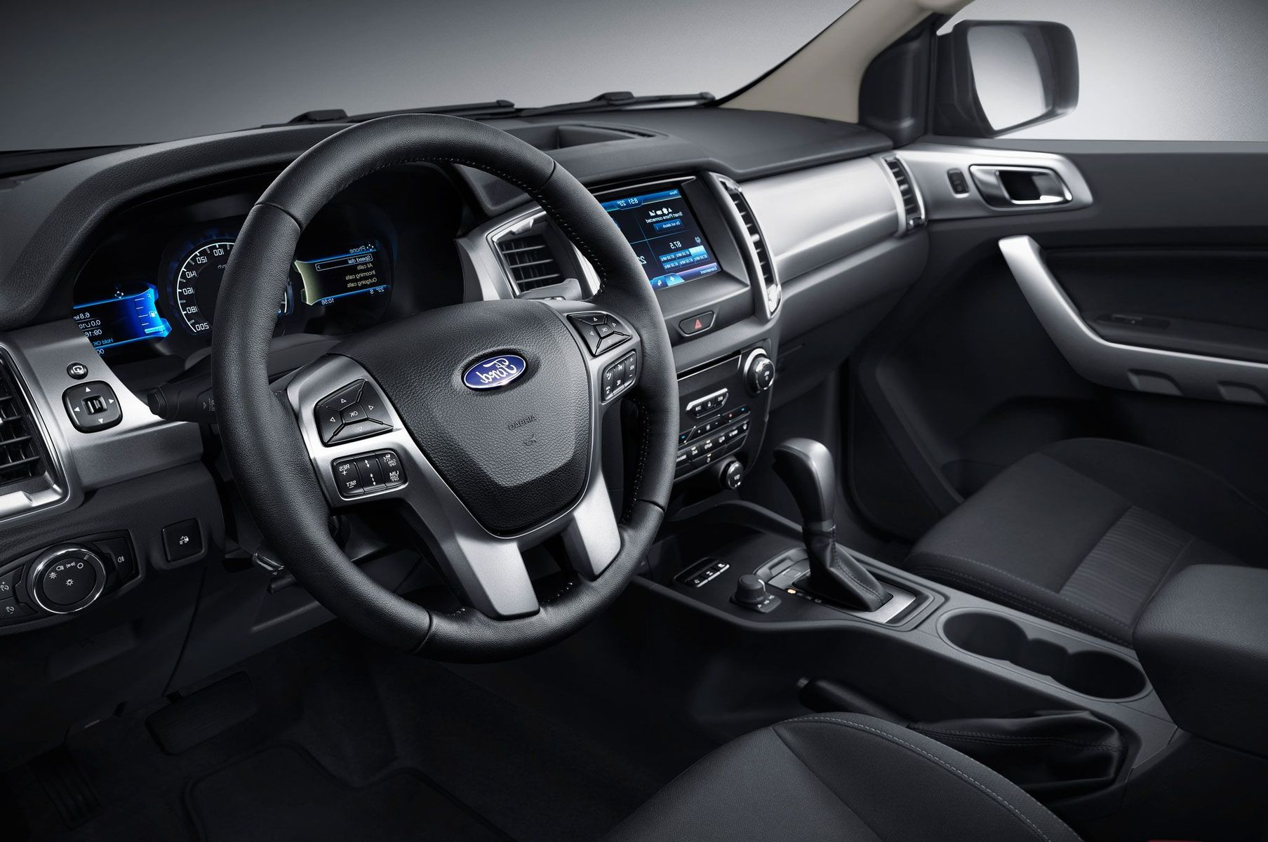 2019 Ford Everest Interior Dashboard Changes and New Feature