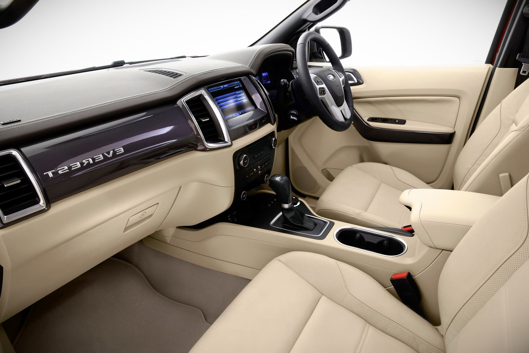 2019 Ford Everest Interior Leather Seating Color