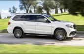 2019 Mercedes Maybach GLS SUV Dimensions