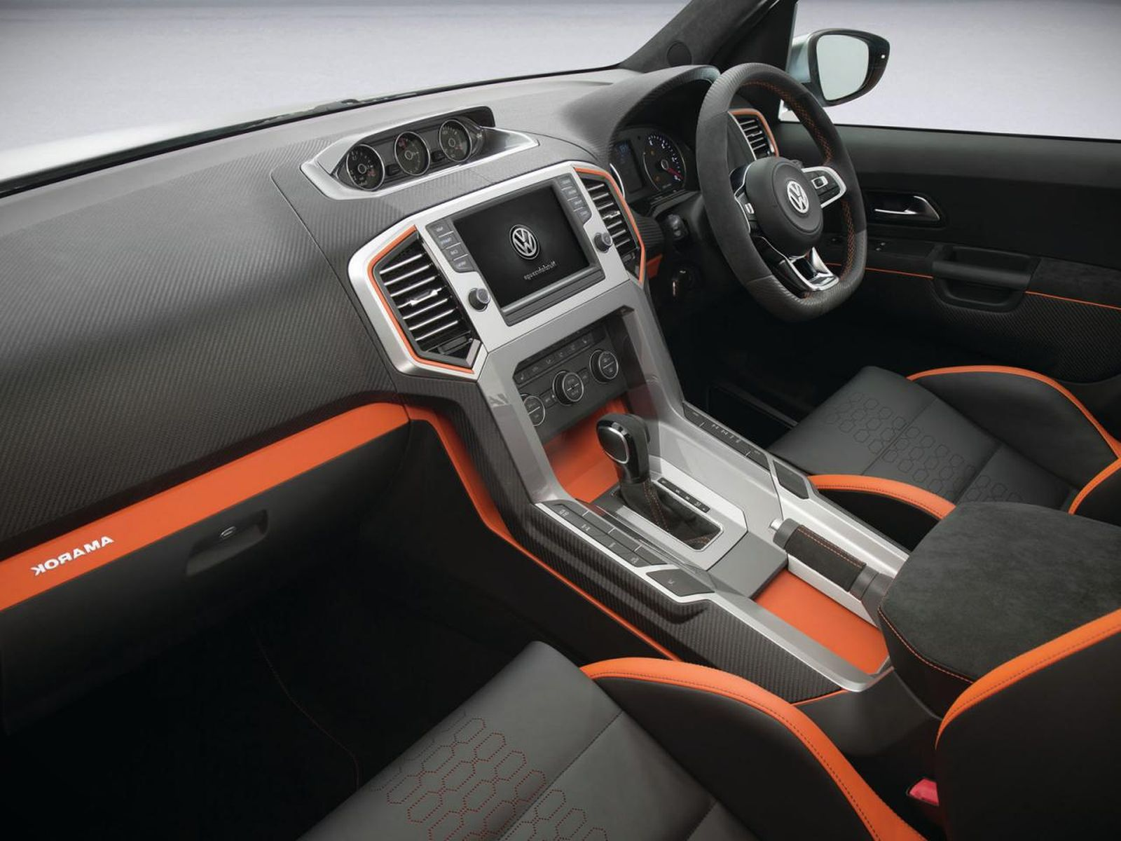 2019 VW Amarok Concept Interior Images