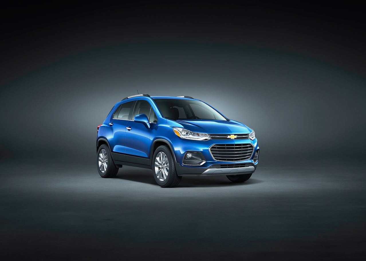 2019 Chevy Trax Exterior Color Availability