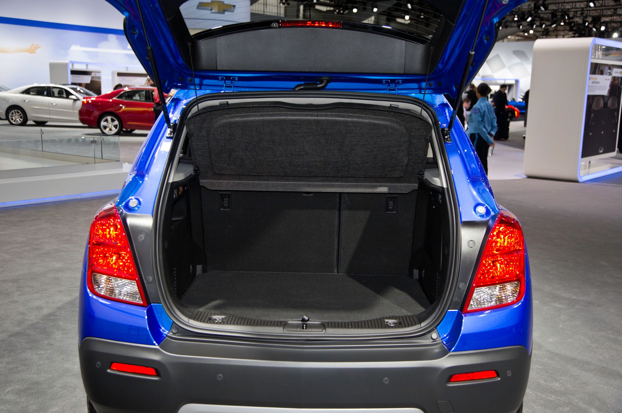 2019 Chevy Trax Trunk Capacity