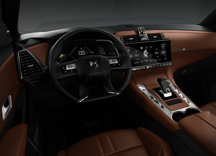 2019 DS7 Crossback Interior Features