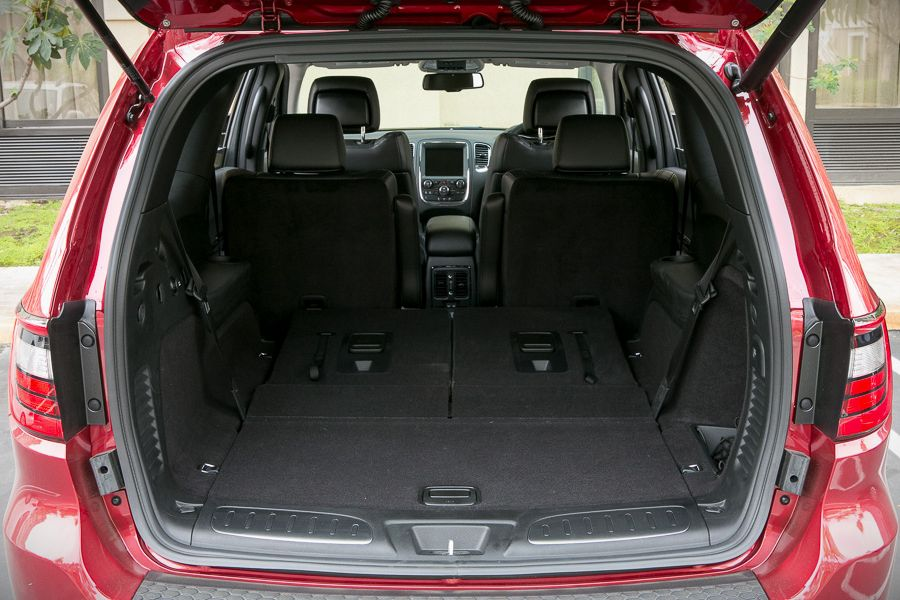 2019 Dodge Durango Trunk Space Dimensions