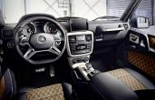 2019 Mercedes-Benz G-Class G350 & G500 Limited Edition Dashboard Images