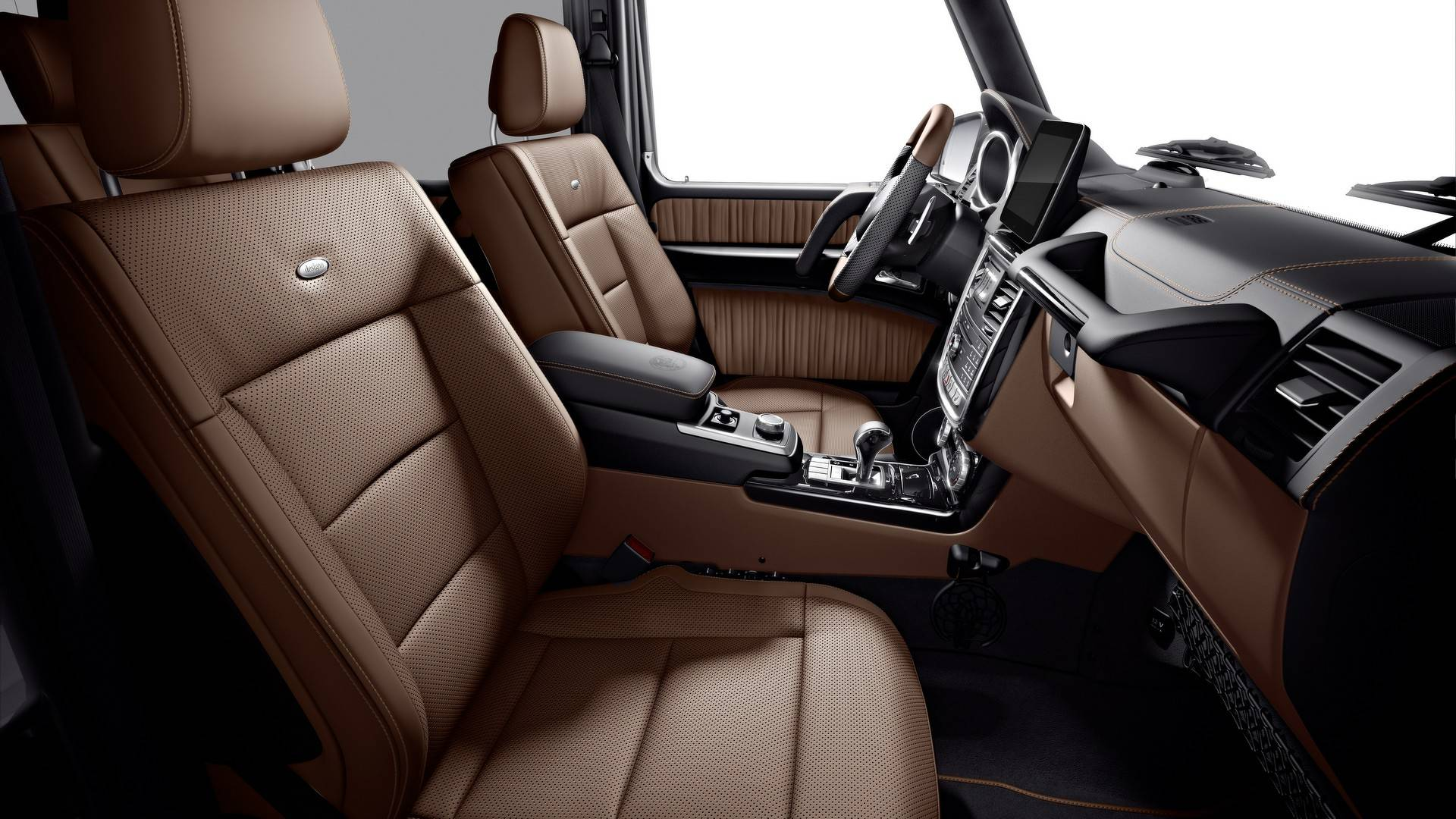 2019 Mercedes-Benz G-Class G350 & G500 Limited Edition Interior Color
