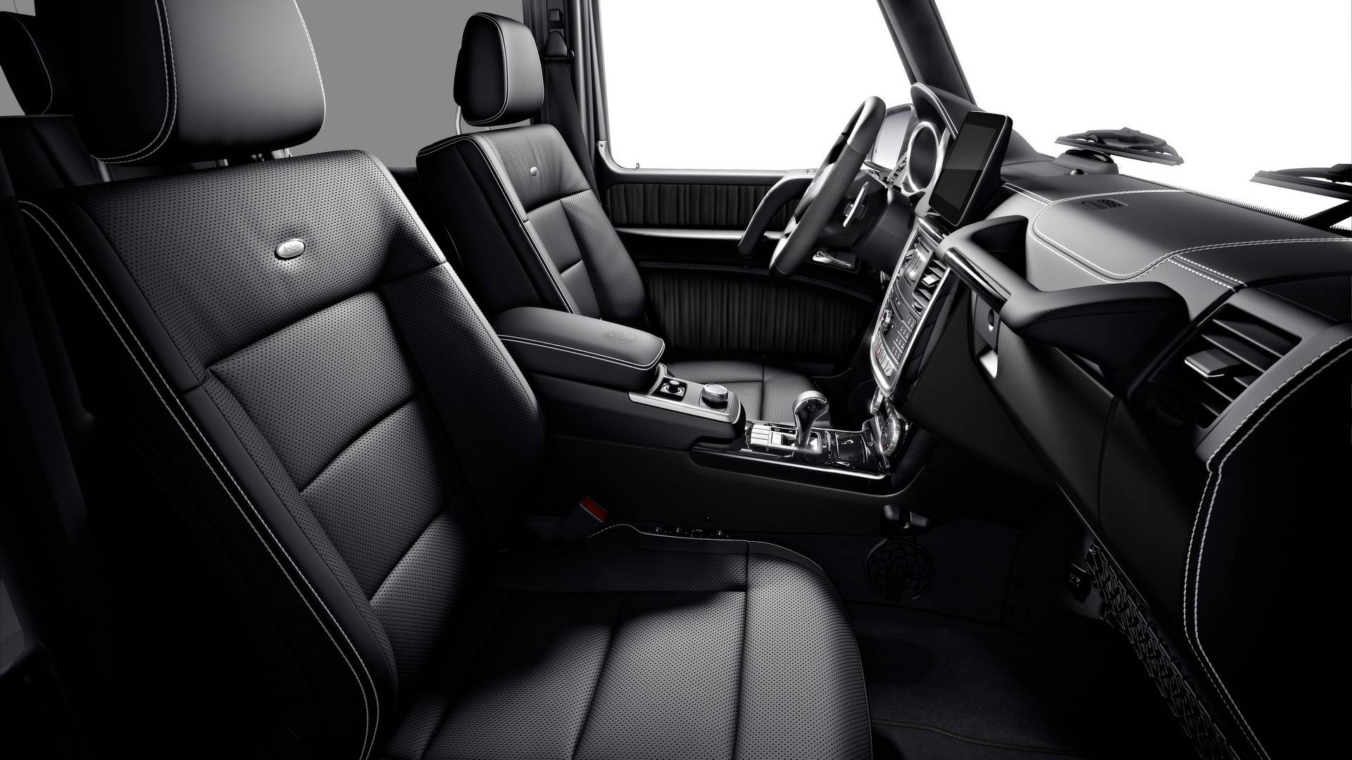 2019 Mercedes-Benz G-Class G350 & G500 Limited Edition Interior Pictures