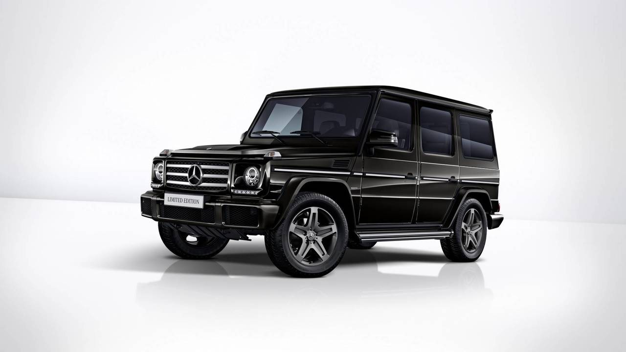 2019 Mercedes-Benz G-Class G350 & G500 Limited Edition MSRP and Availability