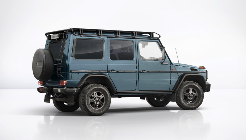 2019 Mercedes-Benz G-Class G350 & G500 Limited Edition Specifications