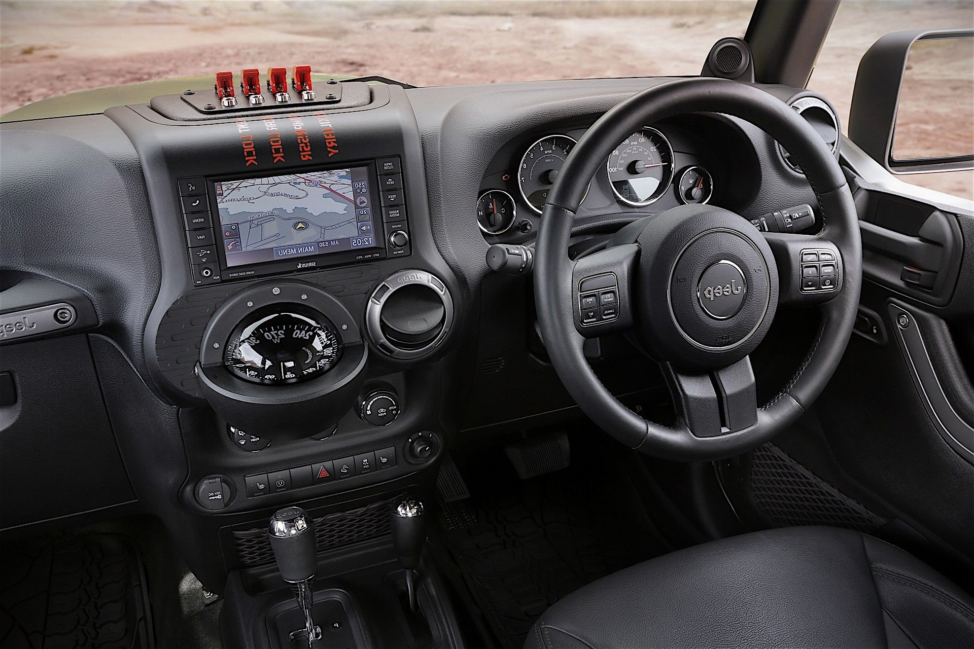 2019 Wrangler Pickup Truck interior design