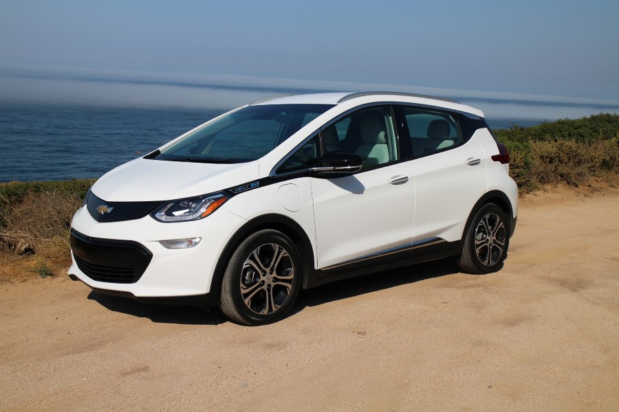 2019 Chevrolet Bolt Mileage Batteray and Exterior Improvement