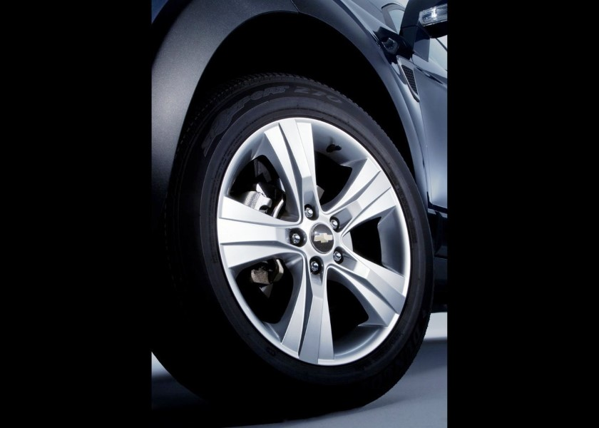 2019 Chevrolet Captiva New Tires